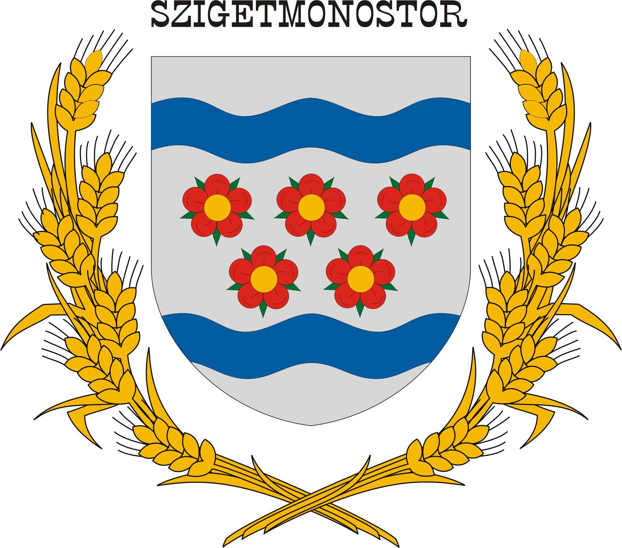 Szigetmonostor község címere