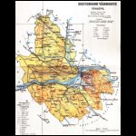 Esztergom vármegye térképe